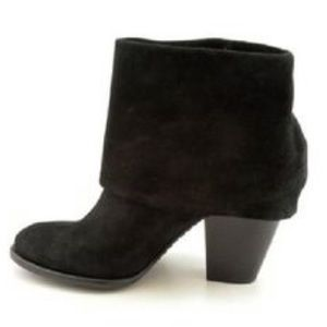 Vince Camuto Fold Over Suede Booties